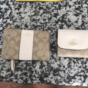 COACH wallet & wristlet